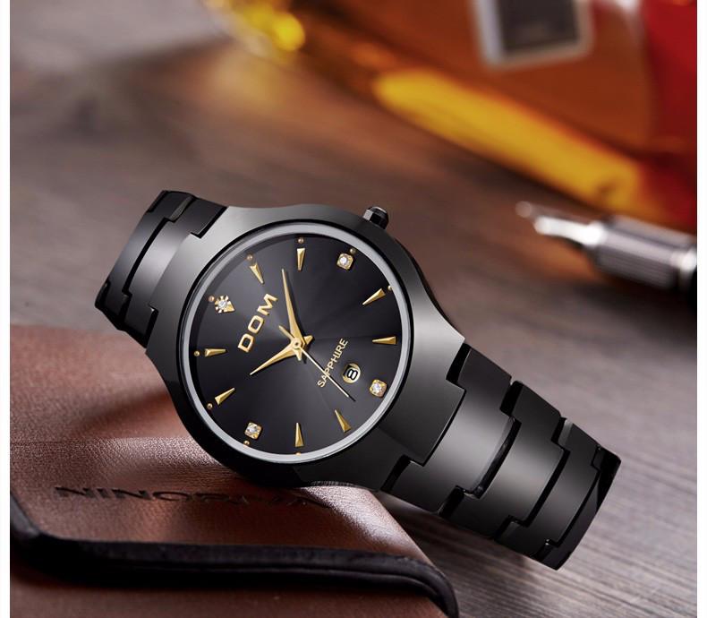 ... Мужские часы DOM из вольфрамовой стали 0de334dfb750e