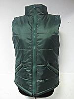 Жилетка Atteks стеганная рабочая утепленная на синтепоне зелёная - 01206