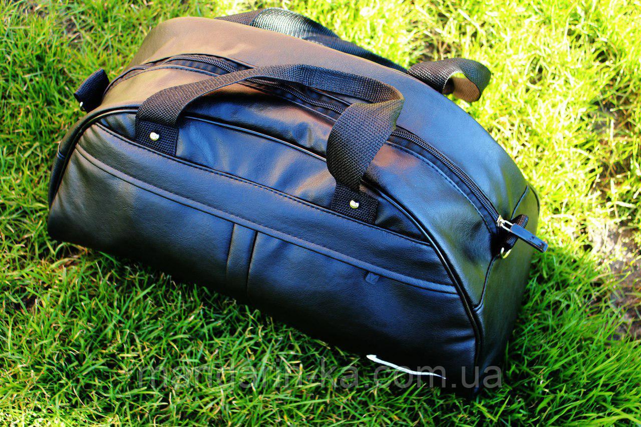 Мужская  городская спортивная сумка  Nike (Найк) черная (реплика)