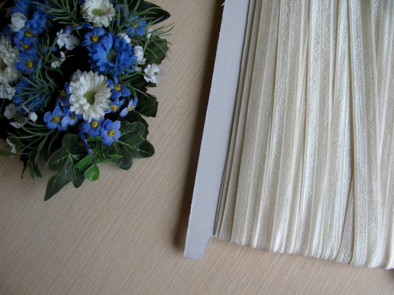 Бейка - резанка (лента-стрейч). Цвет молочный 1.5 см