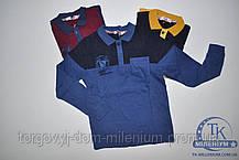 Батник для мальчика трикотажный возраст от 6 - до 10 лет TOMMY LIFE 9067-2