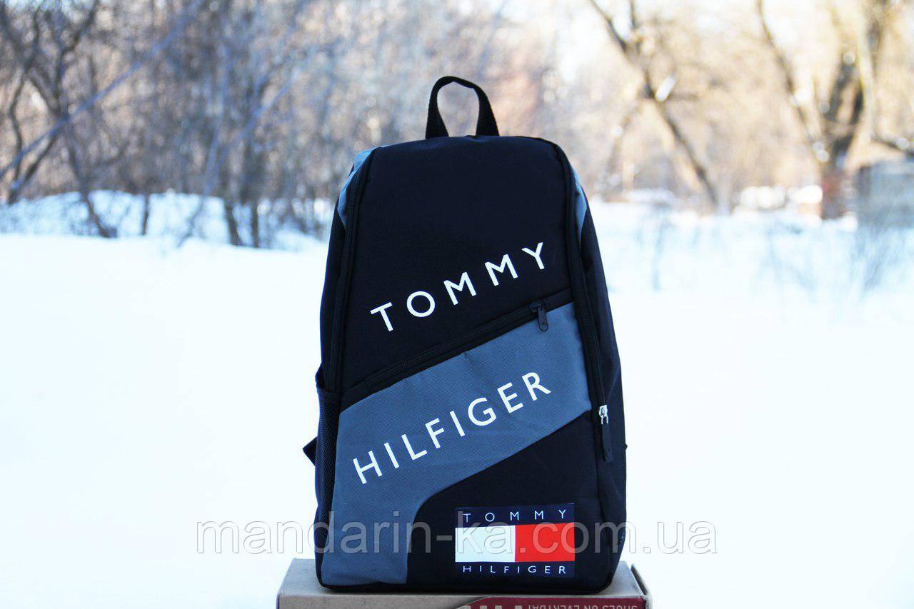 Рюкзак городской  Tommy Hilfiger Томми Хилфигер черный  (реплика)