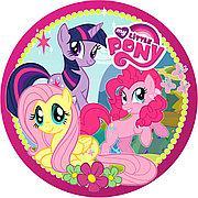 "Тарілки паперові святкові ""Little pony"". 10 шт."