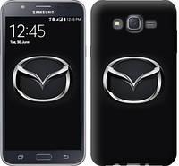 "Чехол на Samsung Galaxy J7 J700H Mazda. Logo ""3120c-101-12506"""