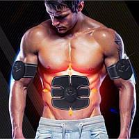 Миостимулятор EMS TRAINER 3 patch -Пояс Ems-trainer стимулятор мышц пресса + 2 На бицепс 1547 VJ
