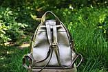 Рюкзак городской  Moschino  Москино  золотой (реплика), фото 2