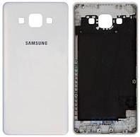 Задняя крышка Samsung Galaxy A5 A500F, A500FU, A500H|Оригинал|Белый