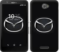 "Чехол на Sony Xperia E4 Dual Mazda. Logo ""3120c-87-12506"""