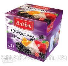 Чай фруктовий Owocowa Jezyny Bastek (фруктовий) 20 бенкетам. Польща