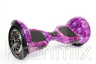 Гироборд Фиолетовый Космос  Гироскутер Сигвей Гіроскутер гіроборд сігвеї 10 Розовый