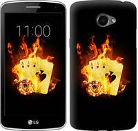 """Чехол на LG K5 X220 Горящие карты """"839c-457-12506"""""""