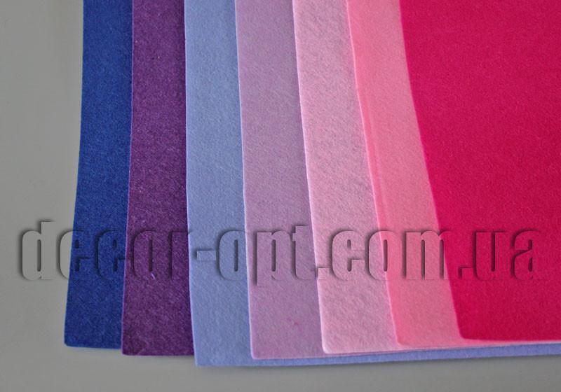 Фетр средней мягкости по цветам 30х30см/1мм/1шт №2