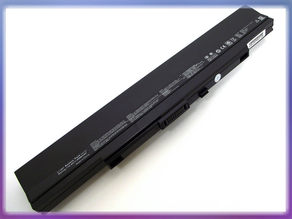 Аккумулятор ASUS (A42-U53, A32-UL50) U30 (14.4V 4400mAh). Black