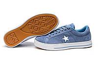 Кеды женские ► Converse,  голубой (Код: 13841) ► [  37 38 39  ] ✅Скидка 44%