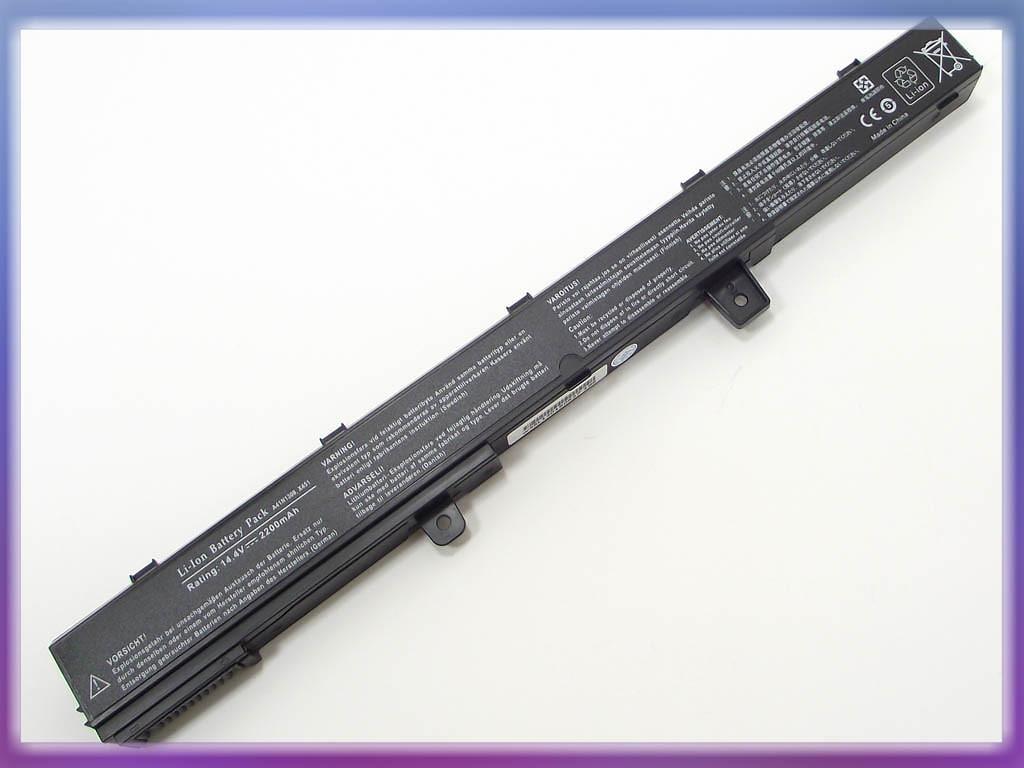Аккумулятор ASUS (A41N1308) X451M (14.8V 2600mAh, Sanyo Cell). Black.