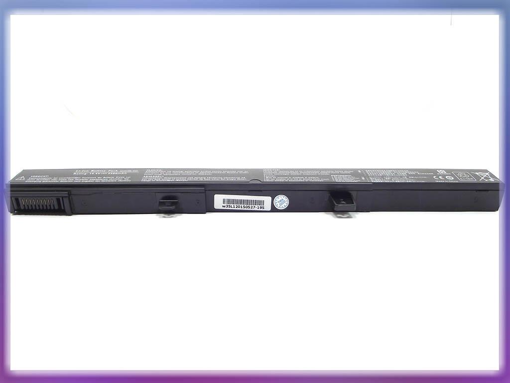 Аккумулятор ASUS (A41N1308) X451M (14.8V 2600mAh, Sanyo Cell). Black. 3