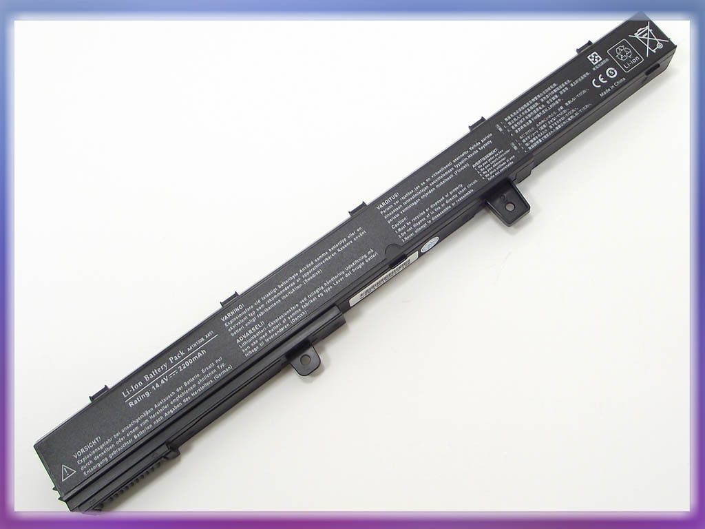 Батарея ASUS (A41N1308) X551C (14.8V 2600mAh, Sanyo Cell). Black.