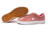 Кеды женские ► Converse,  розовые (Код: 13842) ► [  37 39  ] ✅Скидка 44%
