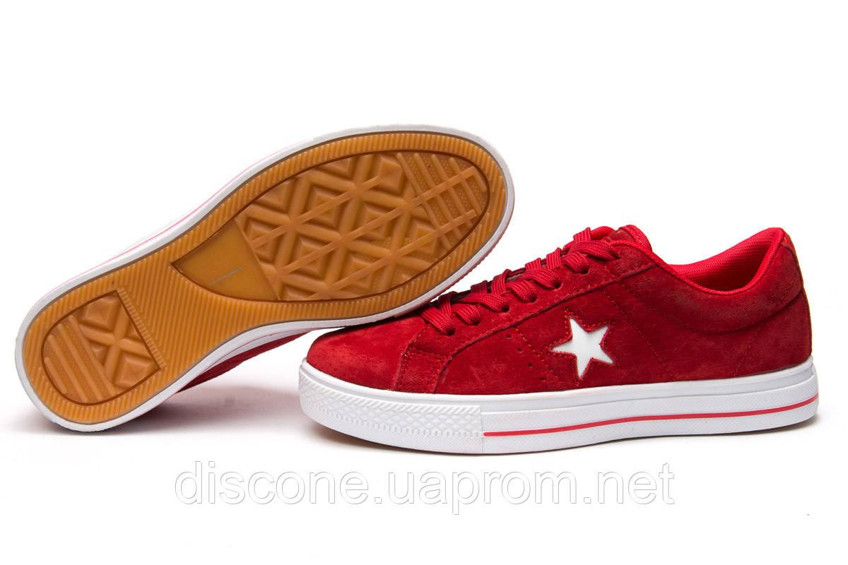 Кеды женские ► Converse,  красные (Код: 13843) ►(нет на складе) П Р О Д А Н О!