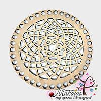 Круглое донышко Ажурное, диаметр 16 см, №4