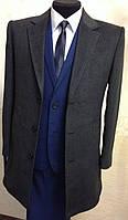 Пальто мужское зимнее шерстяное
