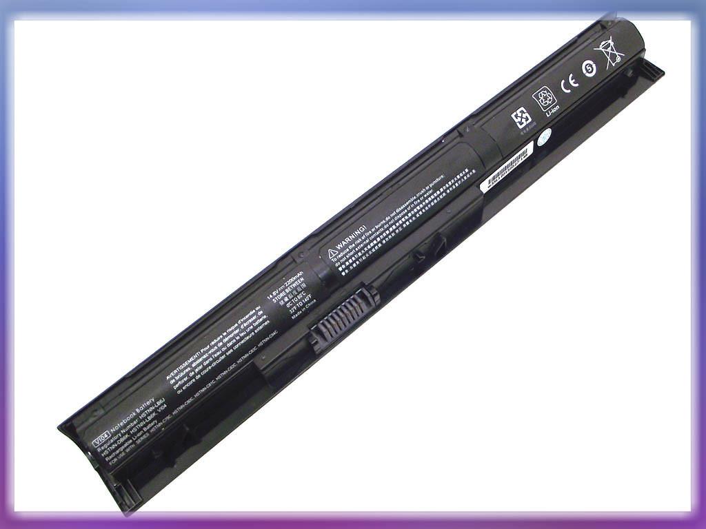 Аккумулятор HP (VI04) Envy 14 (14.8V 2200mAh). Black.