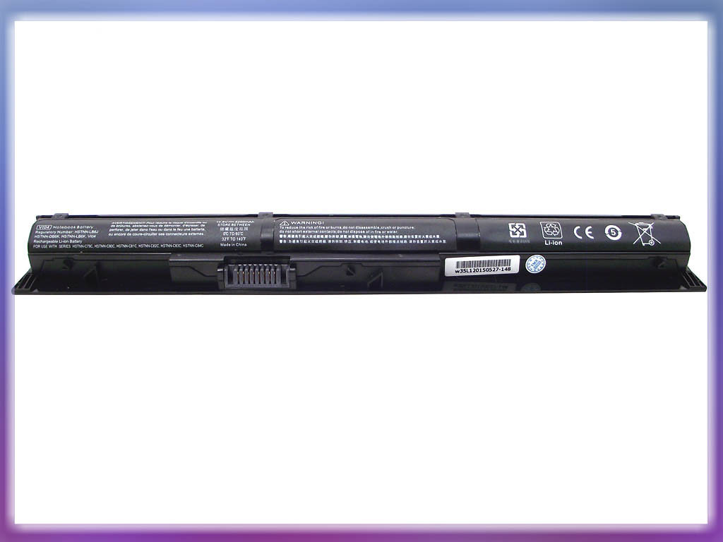Батарея HP (VI04) Probook 450 G2 (14.8V 2200mAh). Black. 3