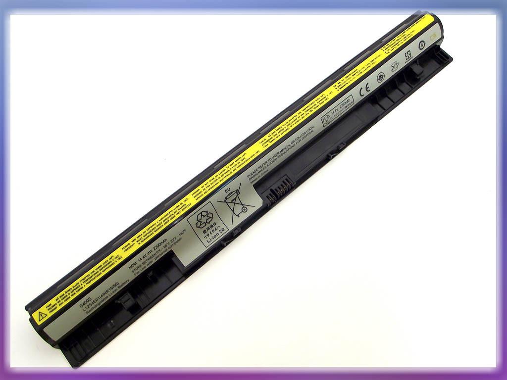 Аккумулятор Lenovo IdeaPad G400S Series (14.4V 2200mAh) P/N: L12S4A02