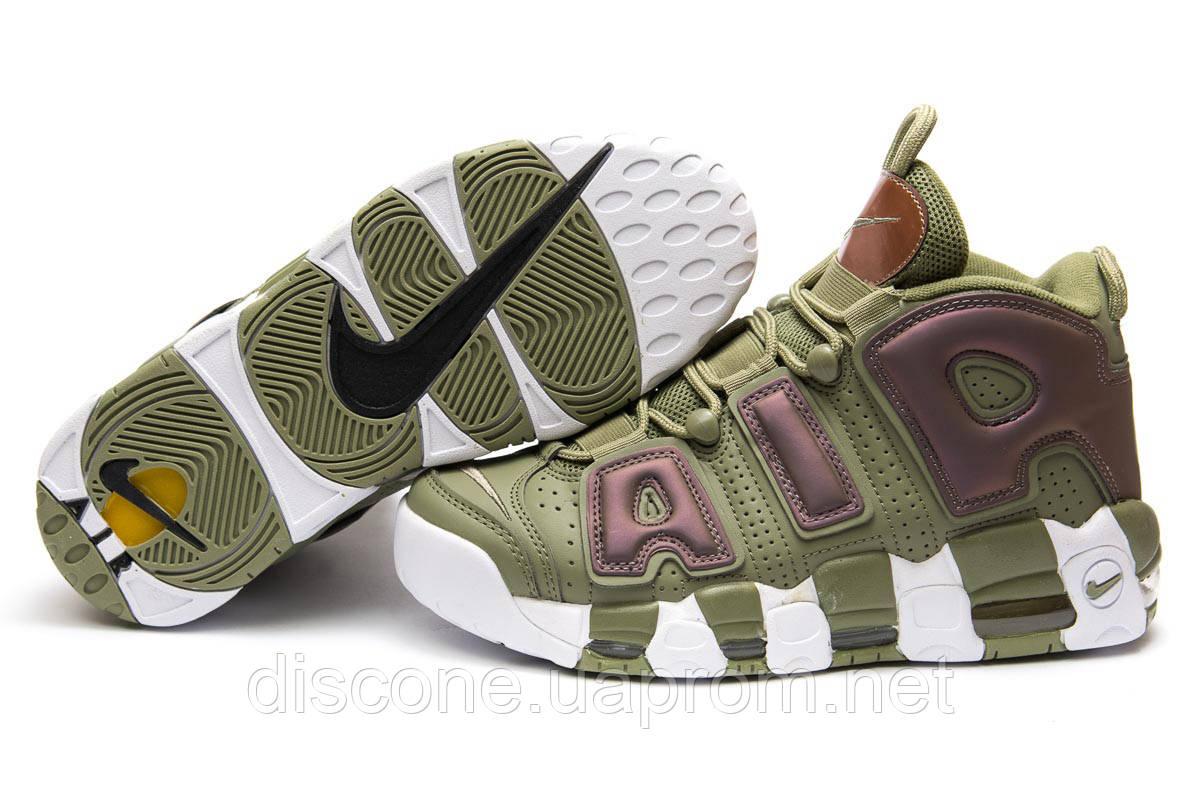 Кроссовки мужские ► Nike More Uptempo,  хаки (Код: 13914) ►(нет на складе) П Р О Д А Н О!