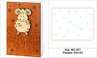 Изготовление деревянных новогодних открыток!