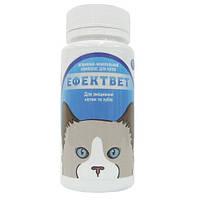 Витамины для укрепления костей и зубов для кошек Эффектвет 100таб, минимальный заказ 3 шт