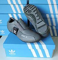 Кожаные кроссовки мужские Adidas Porsche. Натуральная кожа. Производство Индонезия. Реплика.
