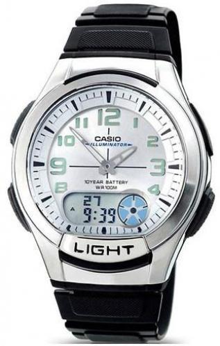 Наручные мужские часы Casio AQ-180W-7BVEF оригинал
