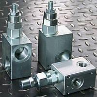 Клапан предохранительный (переливной) с непосредственным управлением тип DBD