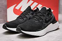 Кроссовки мужские 13763, Nike Epic React, черные ( 42  ), фото 1