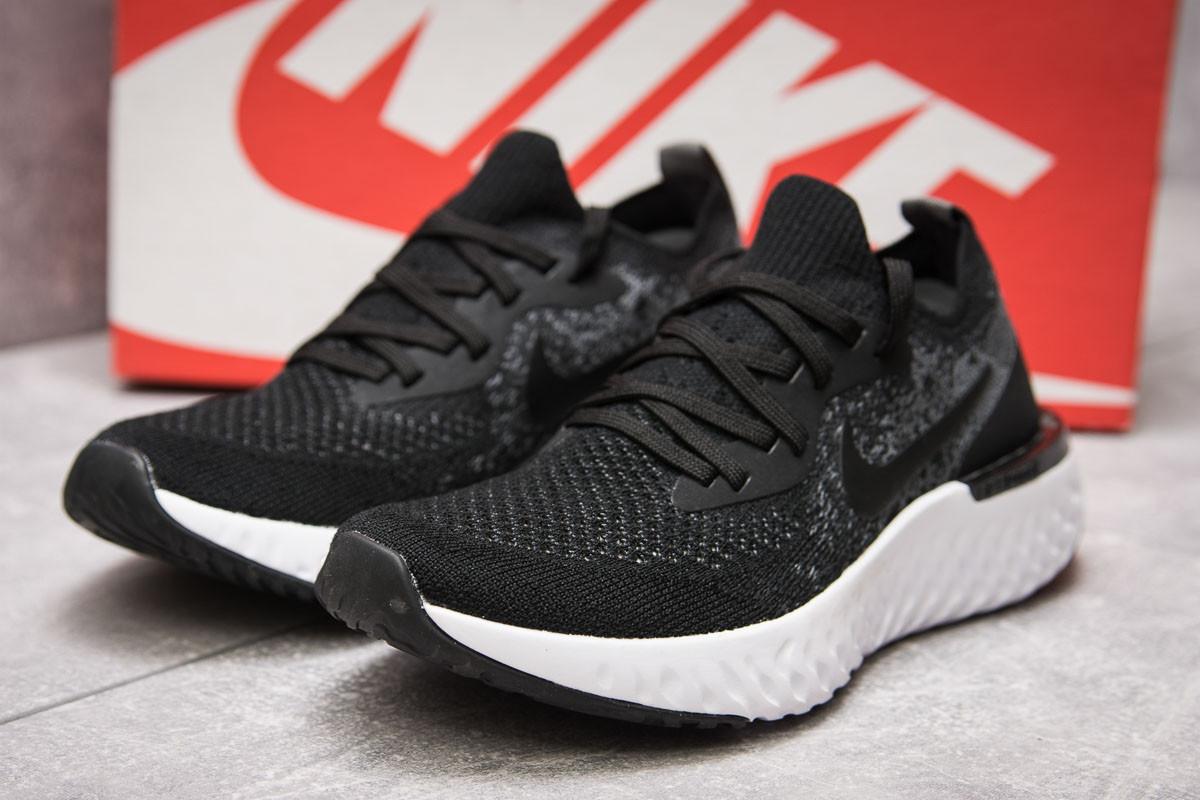 Кроссовки женские 13772, Nike Epic React, черные ( 36 37,5  )