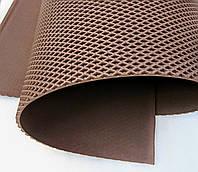 Материал для изготовления автоковриков в листах. (EVA листовой).КОРИЧНЕВЫЙ.