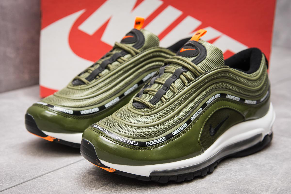 Кроссовки мужские Nike Air Max 97, зеленые (13792),  [   41 42 43 44 4