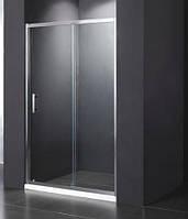 Душевая дверь Dusel FА-512, 1400х1900, дверь раздвижная, стекло прозрачное