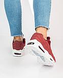 Женские кроссовки Nike Air Max 95 Bordo. Живое фото. Топ качество! (Реплика ААА+), фото 2