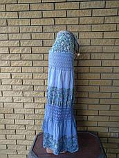 Юбка-сарафан летняя в пол коттоновая CHAO, фото 2