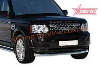 Защита переднего бампера d 76 труба Союз 96 на Land Rover Discovery IV 2010-2015