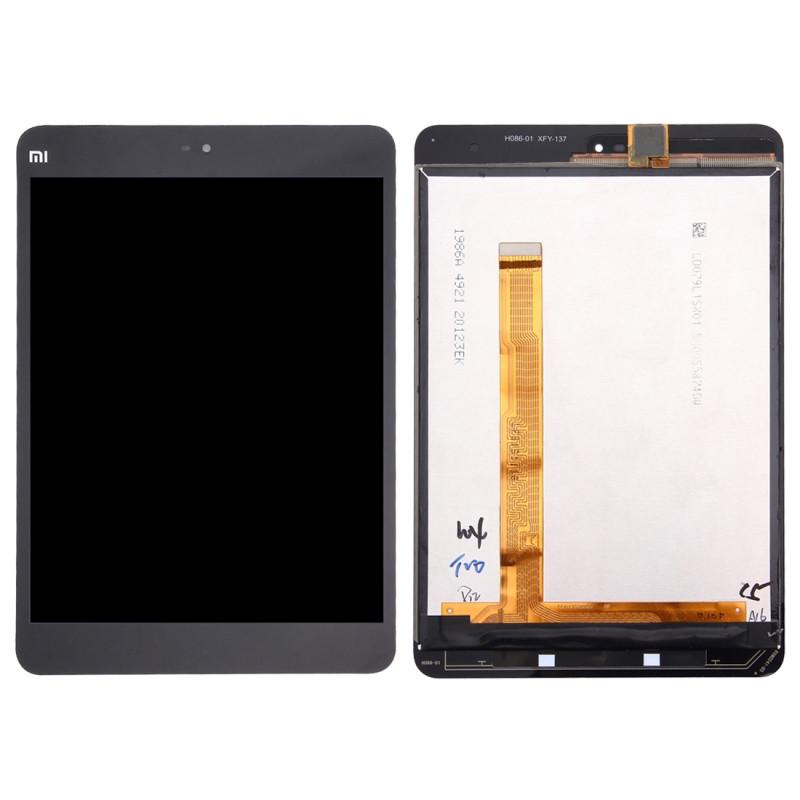 Дисплей для Xiaomi MiPad 2 с тачскрином черный Оригинал