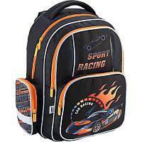 Набор школьный ортопедический рюкзак kite k18-514s sport racing на 14 литров с пеналом