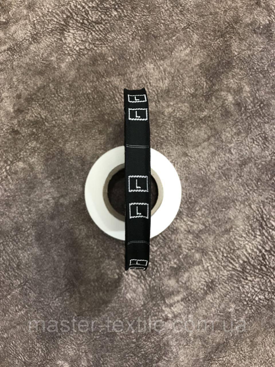 Размерник тканевой № L