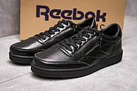 Кроссовки мужские 13874, Reebok Classic, черные ( 41  ), фото 1