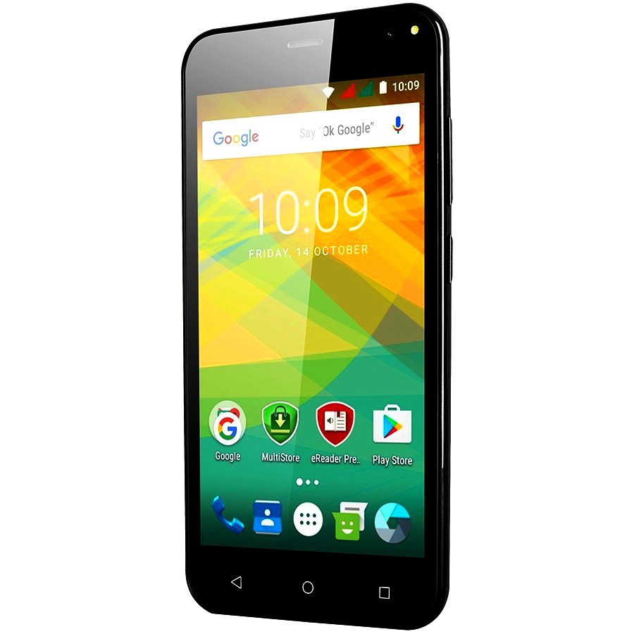 Смартфон Prestigio 3537 0,5/4Gb Black GPS