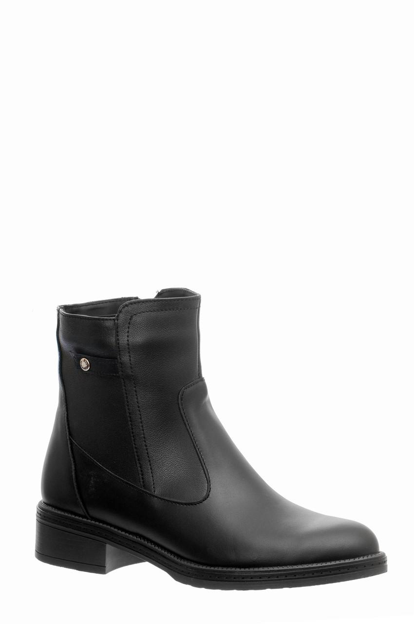 Жіночі замшеві черевики шкіряні напівчеревики напівчоботи чоботи TIFFANY на низькому каблуці платформі