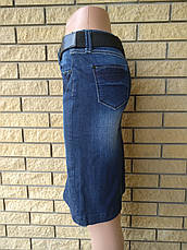 Юбка джинсова стрейчевая  реплика DIOR, фото 2