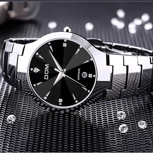 Мужские часы DOM из вольфрамовой стали e9e970cc09603